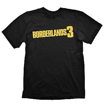 ボーダーランズ 3 ロゴ シャツ ブラック ラージ - ゲームグッズ