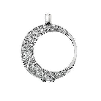 Emozioni Mezzaluna Sterling Silver Coin Keeper EK012
