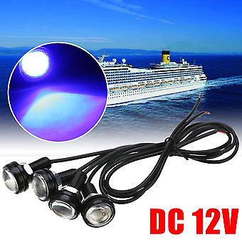 12v Led Boat Light Waterproof Outrigger Spreader Transom Underwater Fish Signal Lamp
