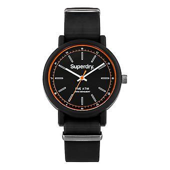 Superdry Campus Nato Watch - Black