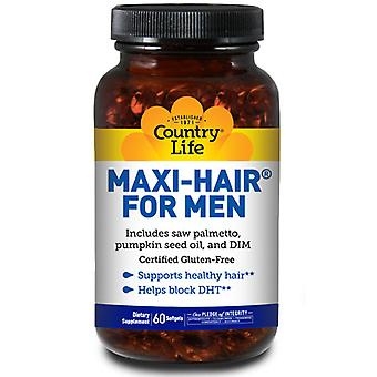 Country Life Maxi Hair For Men, 60 TABS