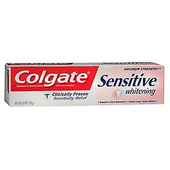Colgate Sensitive Whitening Maximum Strength Toothpaste Fresh Mint, fresh mint 6 oz