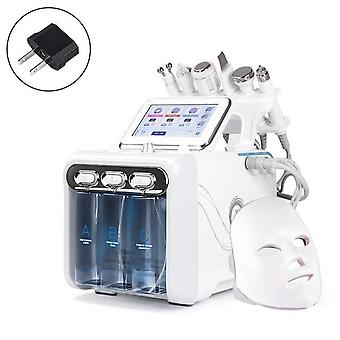 7 In 1 Water Dermabrasion Machine With Led Facial Mask For Deep Cleansing