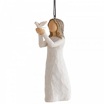 Willow Tree Soar Hanging Ornament