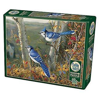 Cobble hill puzzle - blue jays - 1000 pc