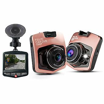 Aquarius Full HD 1080p Car DVR Compact Size Camera with Night Vision, Rose Gold