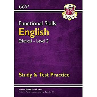 Novas habilidades funcionais Edexcel Inglês nível 2-estudo & prática de teste (com edição online)