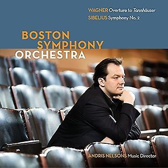 Boston Symphony Orchestra - Boston Symphony Orchestra: Wagner & Sibelius [CD] USA import
