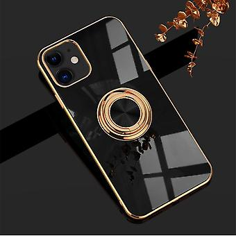 Luxueux élégant Mobile Shell Phone11 Pro Max avec Ring Stand Feature Gold