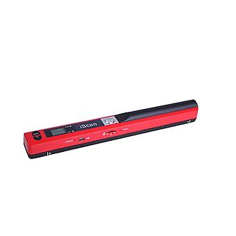 Mini Portable Scanner Lcd Display, Jpg/pdf Format Dokument, Bild Iscan,