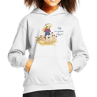 Holly Hobbie Life er en picnic nyd det Kid's Hooded Sweatshirt