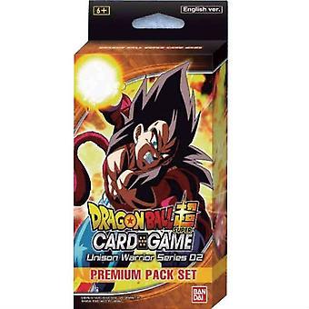 Dragon Ball Super CG: Unison Warrior Premium Pack Sæt 02