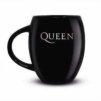Dronning Guld Crest Krus