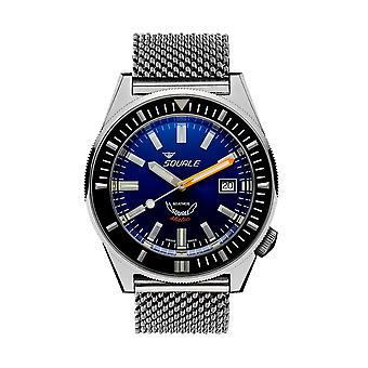 Squale MATICXSB.ME22 600 Meter Swiss Automatic Dive Wristwatch Mesh