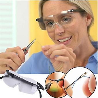 Adjustable Strength Lens Zoom Reading Glasse