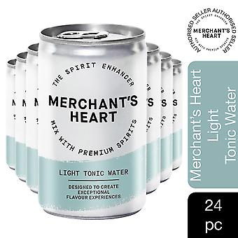 Merchant's Heart Light Tonic Water 4pk de (6x150ml), 24 CANS