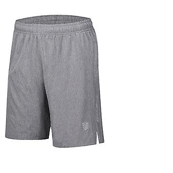 Crossfit Shorts Quick Dry Fitness Gym Shorts med lomme