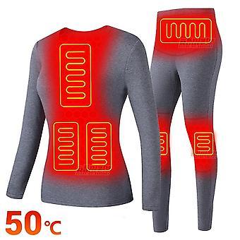 Frauen elektrisch beheizt Unterwäsche Usb Batterie Powered Women's Unterwäsche