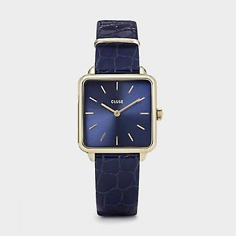 Cluse Ladies La Tetragone Gold Square Quartz Fashion Watch CW0101207028