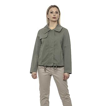 Alpha Studio Women's Green Blazer