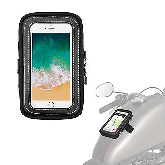 """Motorcycle Magnetic Tank Bags 6.5"""" Touch Screen Cell Phone Gps Bag"""