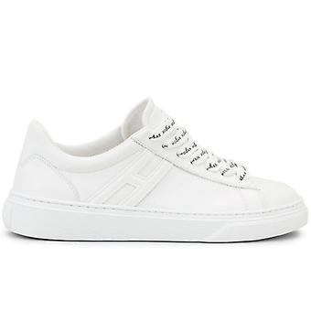 Dames Sneaker Hogan H365 Wit Met Logate Strings