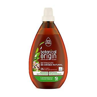 Flytande organiskt tvättmedel Apelsinblomma och citrusblad Doft 20 doser 960 ml