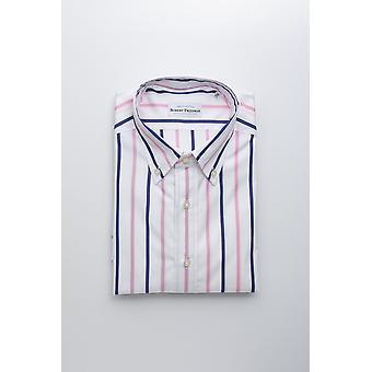 Robert Friedman mäns vita skjorta