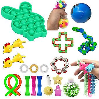 Fidget Toys Set,fidget Stress Relief ,adult Decompression And Anti Anxiety Toys