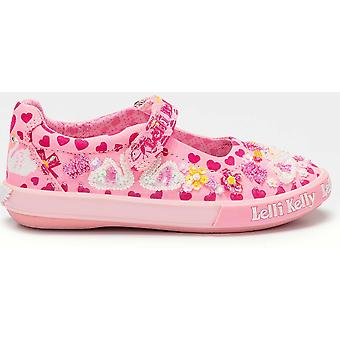 Lelli Kelly LK1052 Swan Dolly Pink Shoes