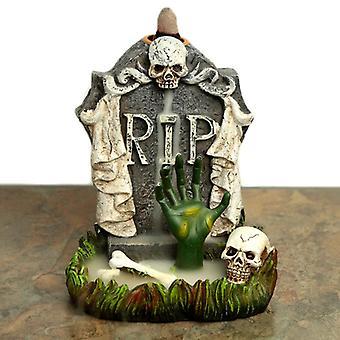 Backflow røgelse brænder - rip zombie hånd gravsten