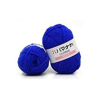 Algodón suave, lana de fibra natural para suéter diy