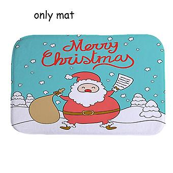 Christmas Bath Mat Wc Toilet Seat Cover Toilet Tapa Decoration Commode Bowl