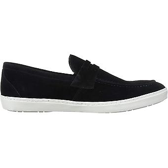 Driver Club USA Men's Leather Made in Brazil Slip on Penny Detail Sneaker