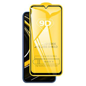 PHIYOO 3-Pack Xiaomi Poco X3 Pro Screen Protector Full Cover 9D Tempered Glass Film Tempered Glass Glasses
