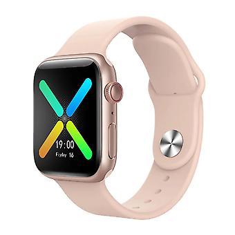 Inteligentné hodinky X8 40mm Bluetooth Call Rose Gold