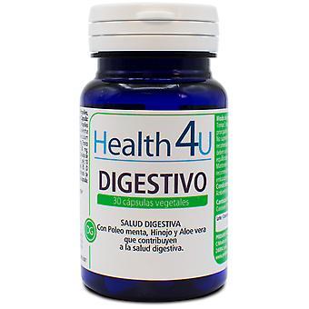 Health 4U Digestive 515 mg 30 Vegetable Capsules