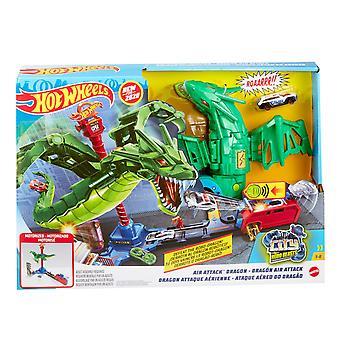 Hot Wheels City Air Attack Dragon Play Set
