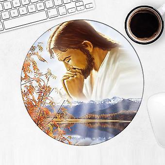 Gift Mousepad: Jesus Praying Catholic