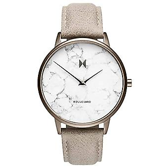 MVMT Analogueic Watch Quartz Woman with Leather Strap D-MB01-TIMA