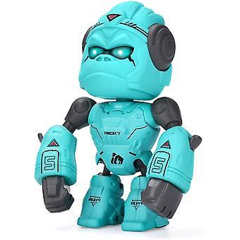 FengChun Legierung Gorilla Roboter Spielzeug für Kinder, Spaß Roboter Spielzeug mit Boxen interaktive Funktion, Touch