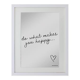 Grindstore تفعل ما يجعلك سعيدا لوحة معكوسة