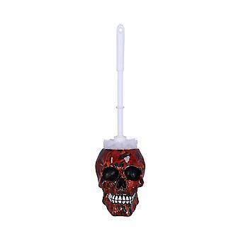 Inferno Skull Toilet Brush Holder
