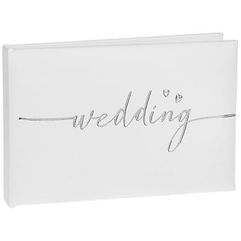 Modern Script Wedding Album Small 6x4