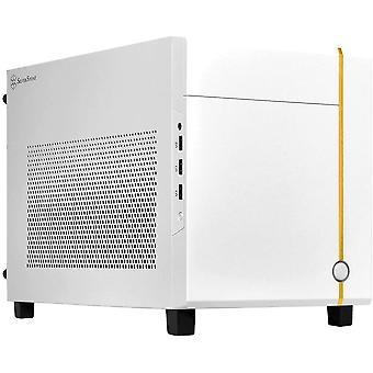 SilverStone Sugo Mini-ITX Kompaktní počítačová kostka Bílé pouzdro - SST-SG14W