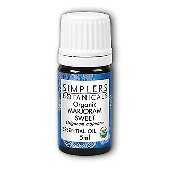 Simplers Botanicals Organic Marjoram Sweet, 5 ml