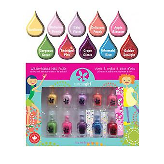 Suncoat Products inkl Nagellack, Party Palette 10 Count
