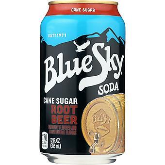 Blue Sky Soda Root Beer, Case of 4 X 72 Oz