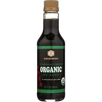 Kikkoman Sauce Soy Org, Case of 6 X 10 Oz