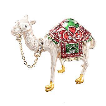 Süße Brosche Pin Kamel Corsage Diamant eingelegt bemaltLegierung Damen Brosche